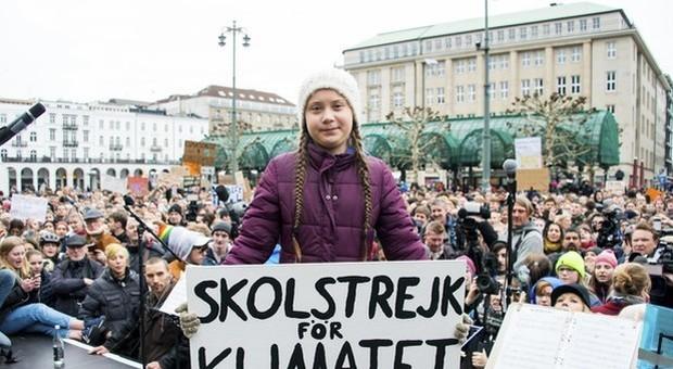 Greta Thunberg incontrerà Papa Francesco mercoledì durante il suo viaggio in Italia