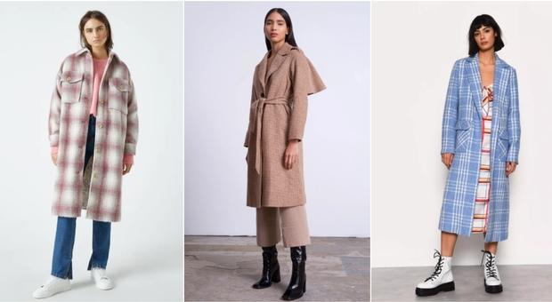 Cappotto a quadri must dell'inverno: extralungo o oversize ecco i modelli inevitabili