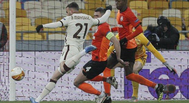 Shakhtar-Roma dalle 18,55 diretta: Fonseca alla ricerca del pass per i quarti