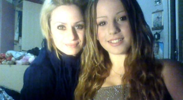 Pamela con la mamma Alessandra