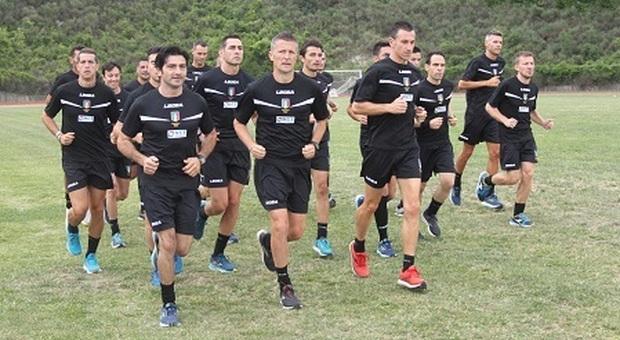 Arbitri, a Sportilia con concluso il raduno pre-campionato