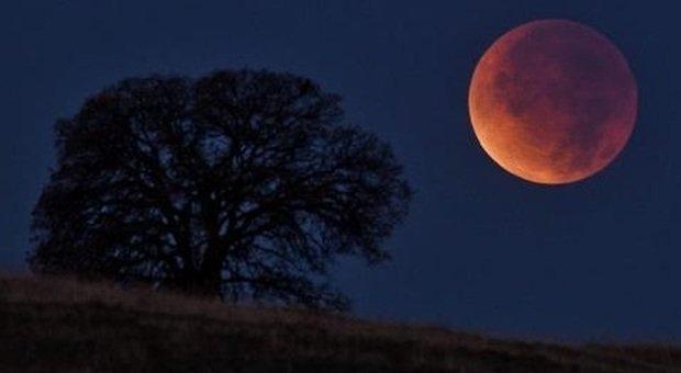 Cielo Rosso Di Notte.Eclissi Di Luna Domenica Notte Il Cielo Si Tinge Di Rosso