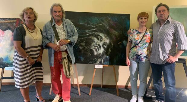 I protagonisti dell'iniziativa culturale in centro a Perugia