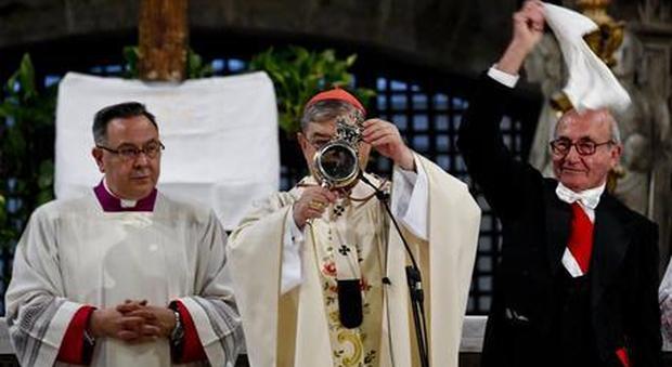 Si ripete il miracolo di San Gennaro: il sangue si è sciolto