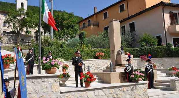 Settanta anni fa il sacrificio di Sbarretti. Bocci:«A carabinieri come lui dobbiamo la democrazia»