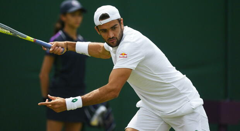 Wimbledon, Berrettini batte Beden 3 set a 0 e vola agli ottavi di finale