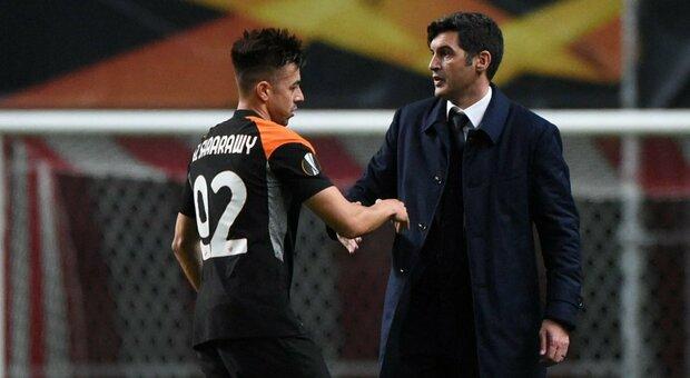 Roma, Fonseca: «Cristante non recupera per il Benevento. Zaniolo? Non deve anticipare i tempi»