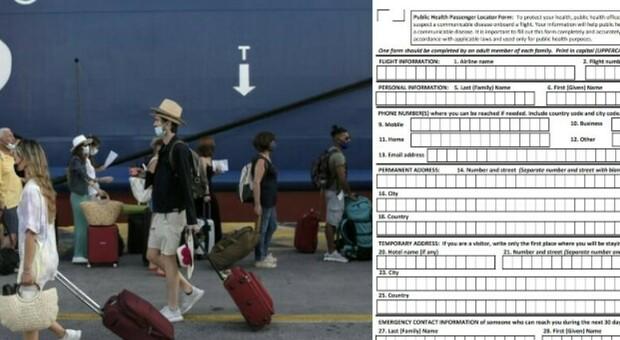 Vacanze in Grecia, occhio al Passenger Locator Form: senza questo modulo non è possibile partire