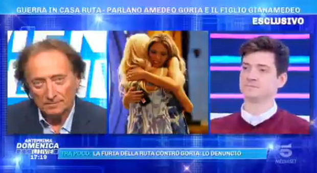 Guenda Goria, il fratello Gian Amedeo fa infuriare Barbara D'Urso: «Non farmi innervosire»