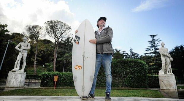 Giorgio Pietrangeli: «Con il surf ho battuto il tumore»