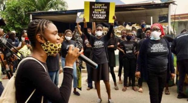 Nigeria protest against violence