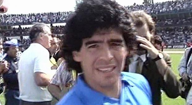 Diego Maradona a Terni il 22 maggio 1989