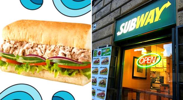 Subway, non trovato Dna del tonno nei panini al tonno della catena di fast food