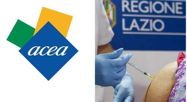 Roma, apre il nuovo Hub vaccinale ACEA: inietterà più di mille dosi al giorno