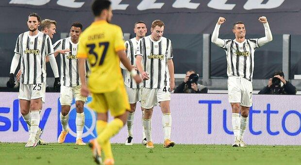 Juventus-Cagliari 2-0: Ronaldo spinge Pirlo verso la vetta