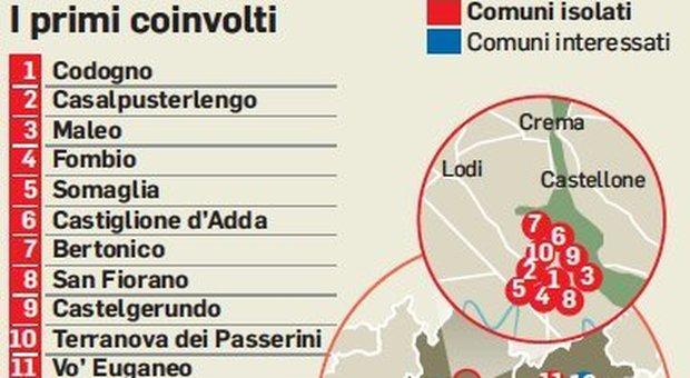 Coronavirus, diretta. Terzo morto, un'anziana a Crema. In Italia 150 contagi, 112 in Lombardia