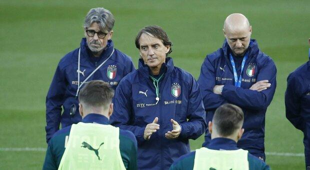 Nazionale, Mancini: «A Sofia per vincere, farò diversi cambi»