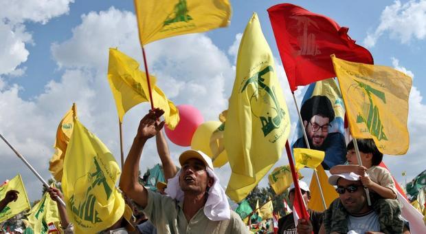 Supporter degli Hezbollah libanesi