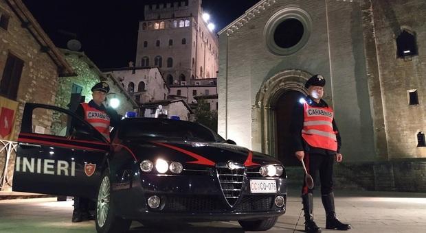 Spaccio nelle campagne di Gubbio, due arresti. Sequestrata cocaina per 6mila euro. In azione i carabinieri
