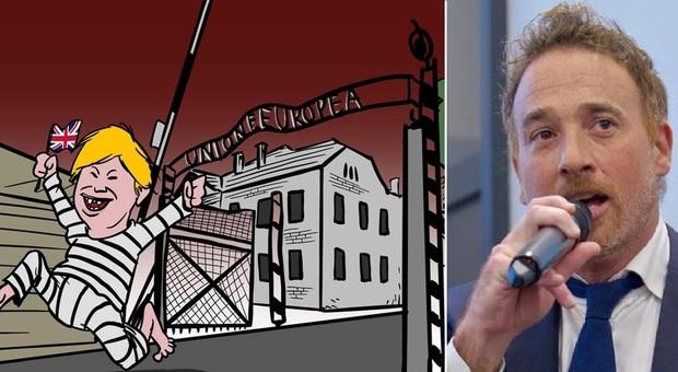 Ue come Auschwitz, la Raggi revocato l'incarico al disegnatore Mario Improta