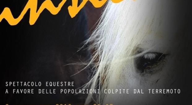 Fregene, uno spettacolo equestre a sostegno dei terremotati
