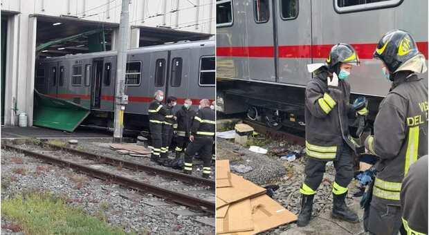 Roma, incidente sul lavoro in deposito dell'Atac: due operai rimangono incastrati, portati in ospedale