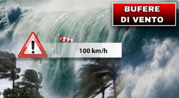 Meteo, venti forti e temporali senza tregua: nuovo ciclone in arrivo