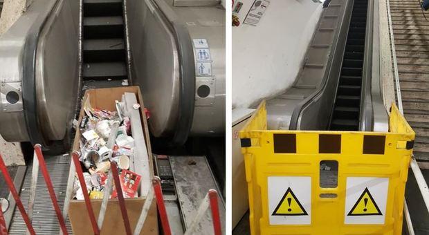 Il disastro delle metro A e B: quasi 100 gli impianti guasti tra scale mobili e ascensori