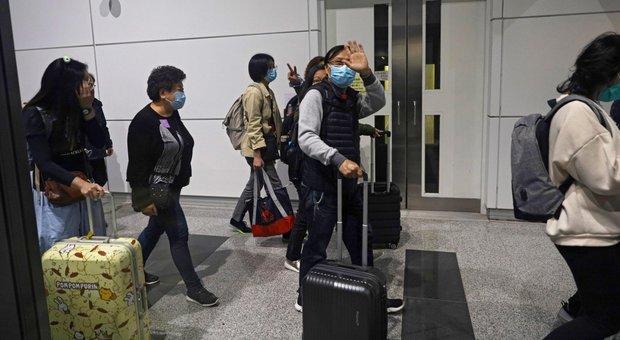 Virus, 4 i turisti di Taiwan positivi che hanno viaggiato in Italia
