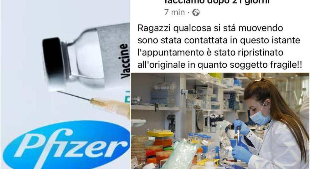 Pfizer Lazio, seconda dose a 35 giorni, ma non per i fragili. Sms in arrivo: cosa succede