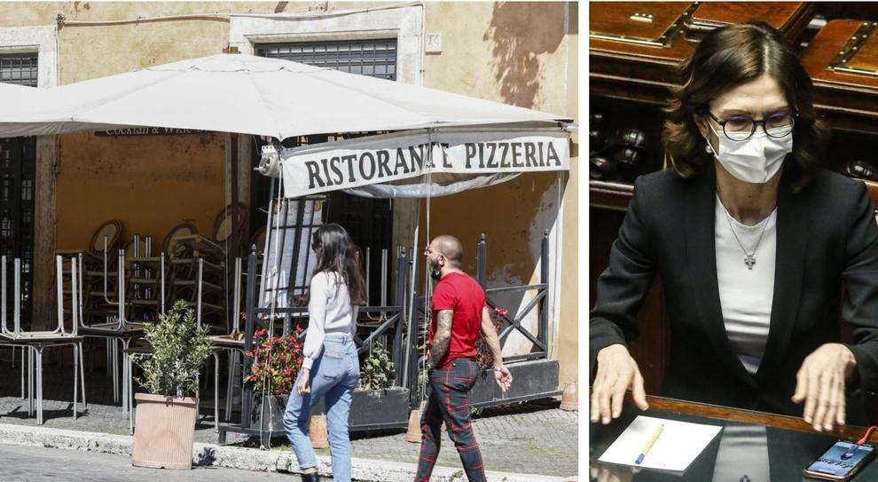 Zona gialla, Mariastella Gelmini: «Al ristorante fino alle 22 e nessuno sarà multato»