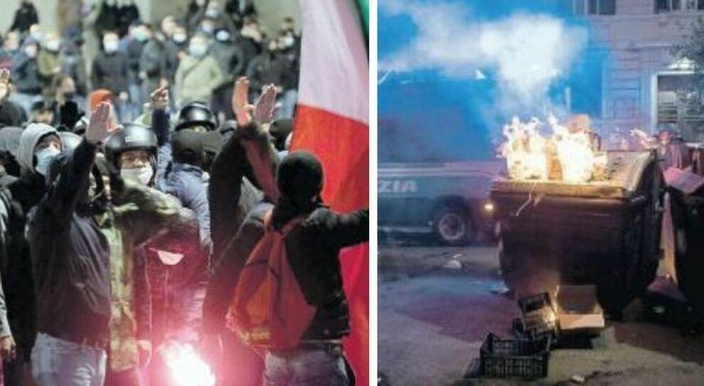 Roma, guerriglia organizzata come allo stadio: in strada ultrà ed estremisti di destra