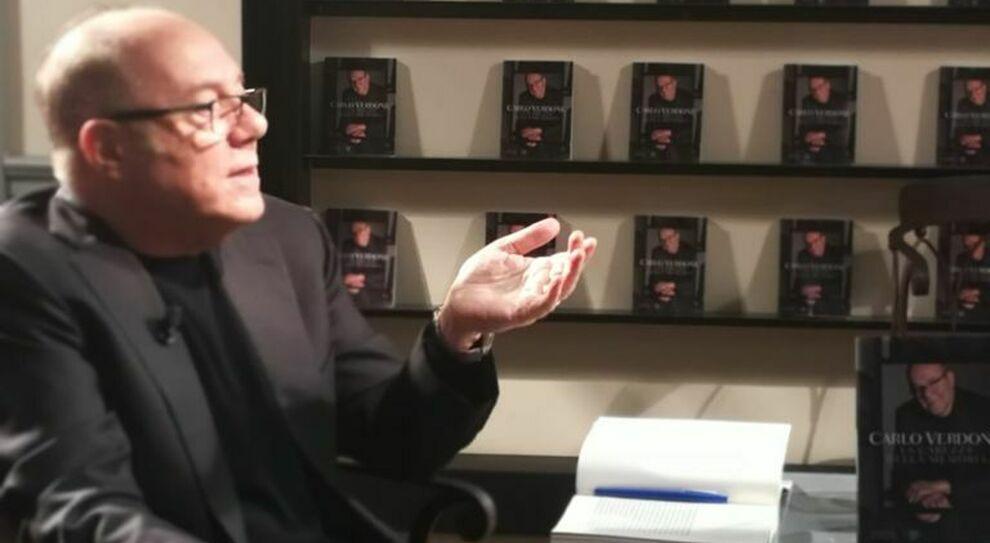 Carlo Verdone racconta il suo ultimo libro