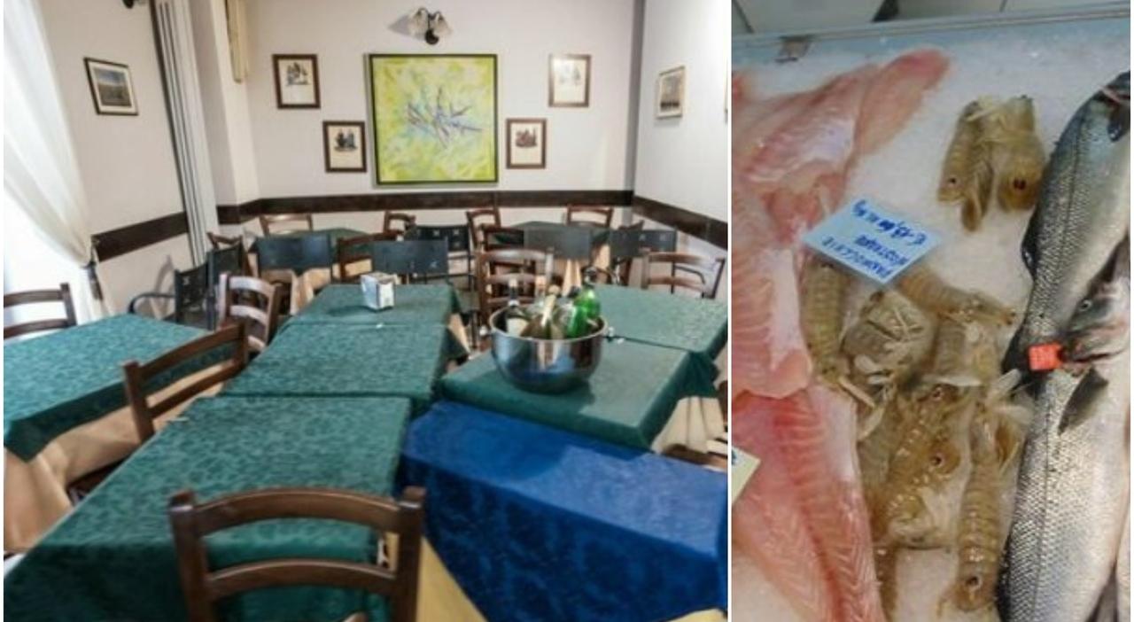 Preso a pugni dallo chef del ristorante, il cliente aveva contestato la qualità del pesce