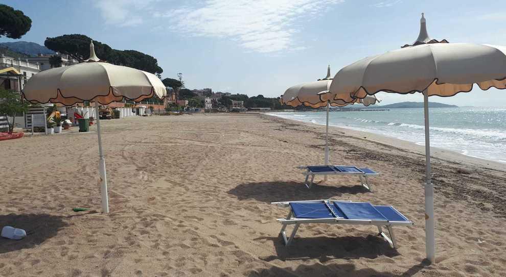 La spiaggia di Vindicio