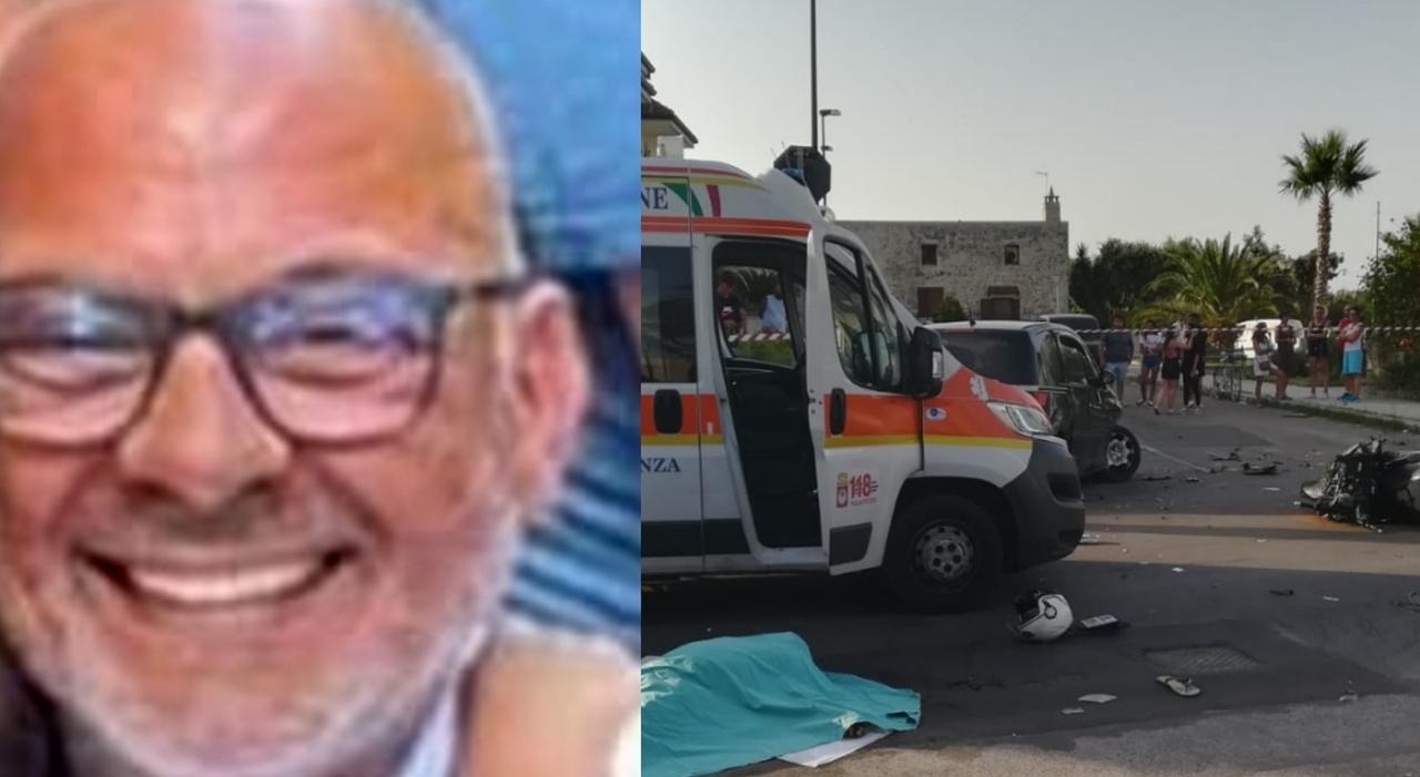 Lecce, va a soccorrere un amico ma ha un incidente mortale: la suocera (appresa la notizia) muore d'infarto