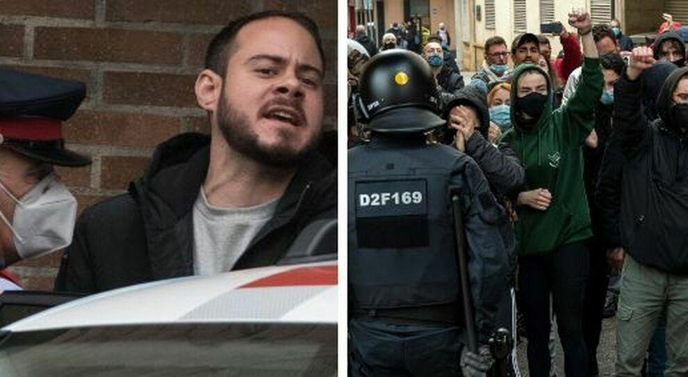 Pablo Hasél arrestato: 9 mesi al rapper per le sue canzoni e tweet. «Esaltazione del terrorismo e ingiurie»