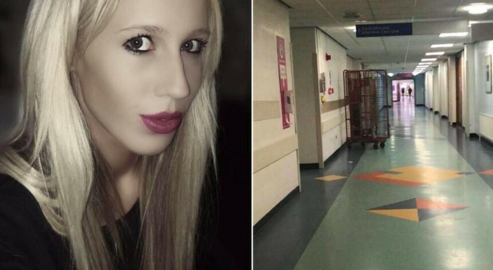 Covid, video e foto della negazionista negli ospedali: «Il virus non esiste». Facebook si ribella, la polizia la scova e la multa