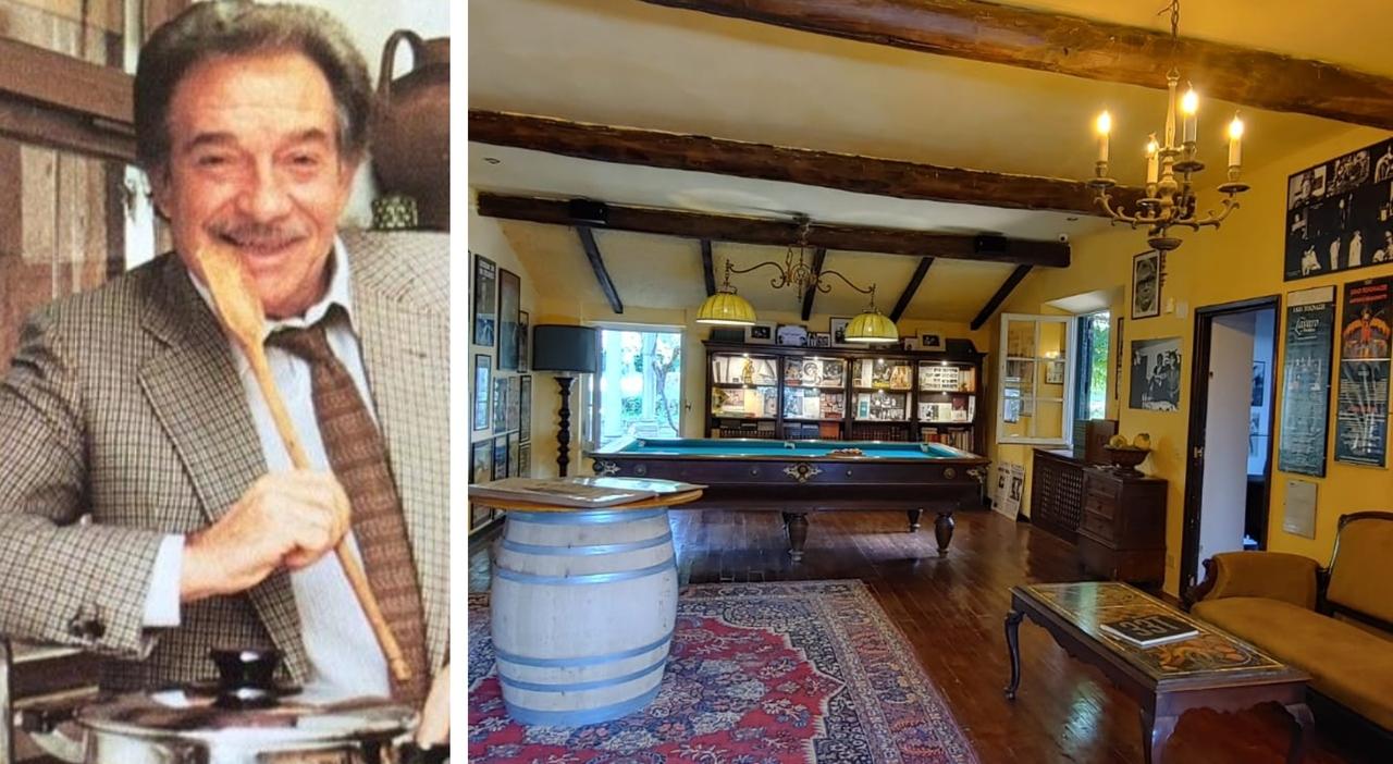 """Ugo Tognazzi, la Tognazza"""" diventa un museo: apre la storica villa di Velletri"""