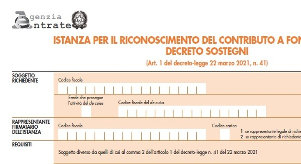 Decreto Sostegno, online modello per chiedere il contributo. Domande dal 30 marzo: come fare e chi può averlo