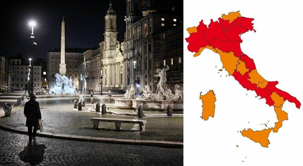 Lombardia e Lazio zona arancione da lunedì? Verso nuovo decreto Covid, proroghe al 15 aprile escluse
