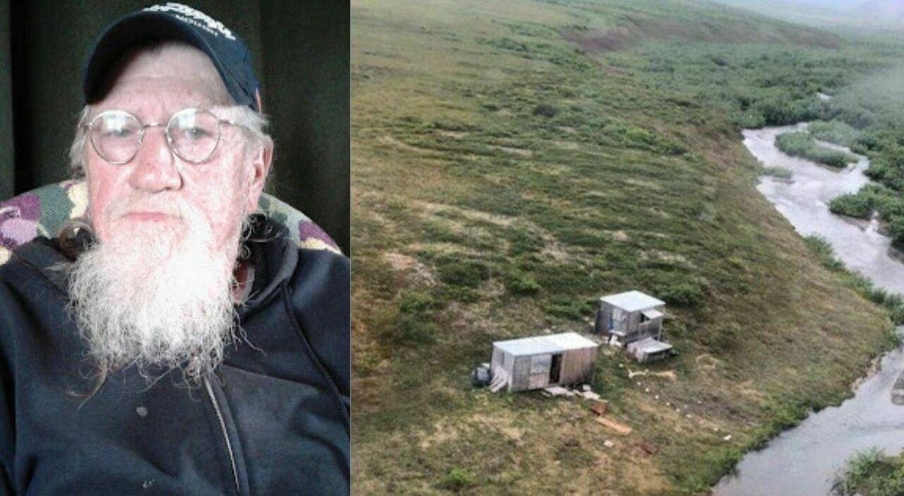 """Alaska, orso attacca la capanna e lui resiste per giorni: «Ho scritto """"aiuto"""" sul tetto, così mi sono salvato»"""