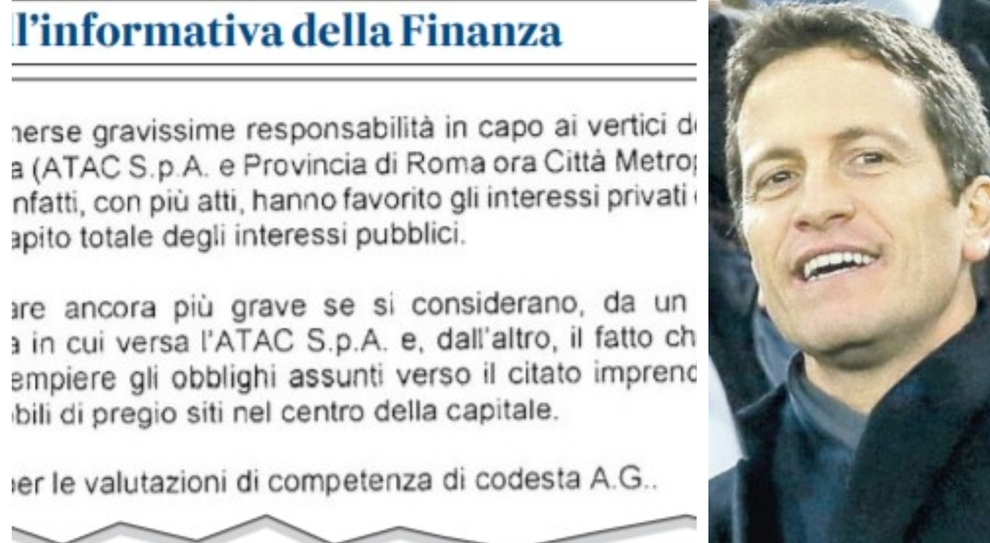 Roma, «Ex Provincia e sede Atac: truffa per salvare Parnasi»