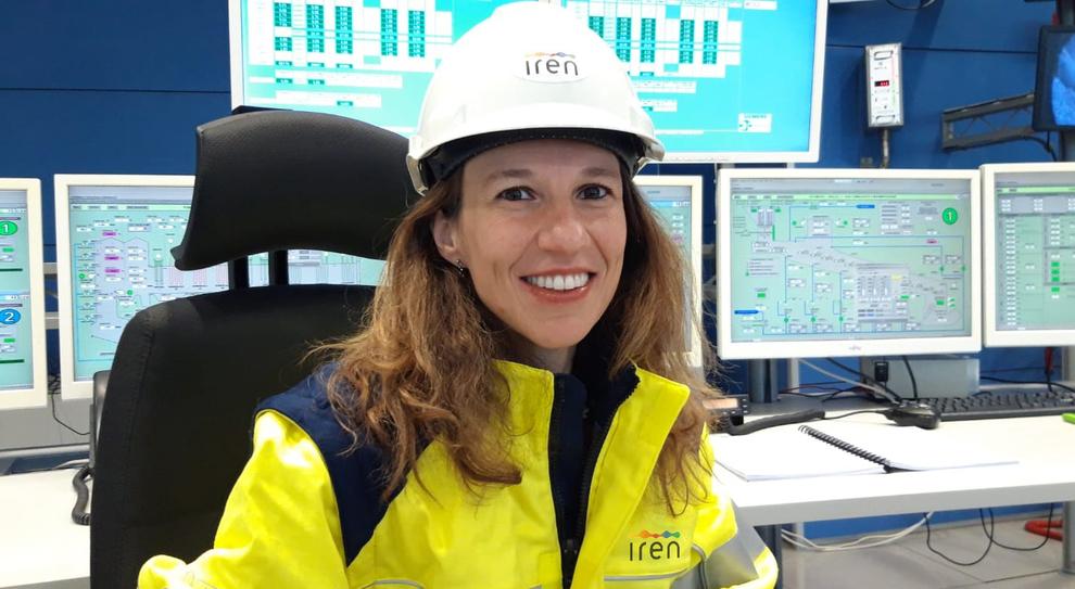 Stefania Sabatino, responsabile del termovalorizzatore di Parma