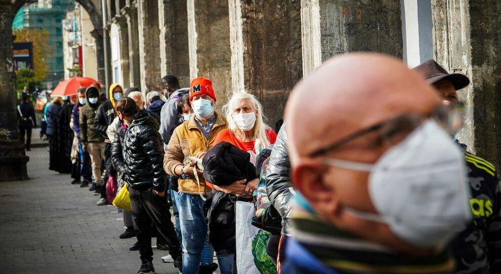 Covid, allarme povertà dalla Caritas di Roma: «consegne +600%»