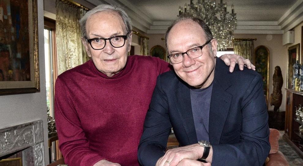 Verdone: «Ennio Morricone e Sergio Leone: due miti, un anima»