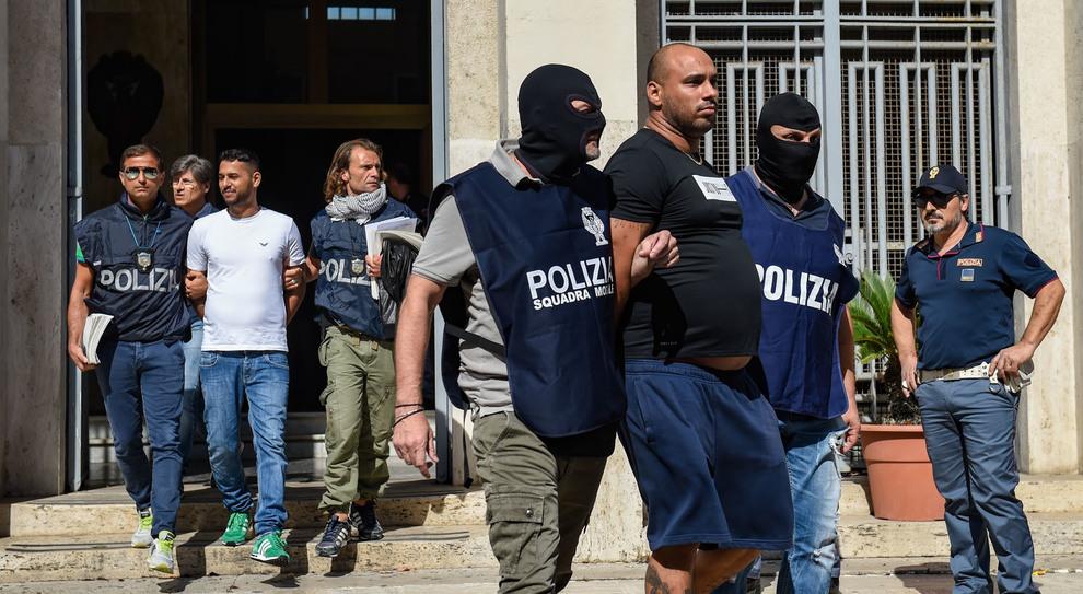 """Gli arresti per l'operazione """"Alba Pontina"""""""