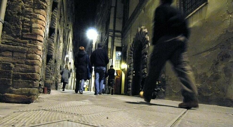 Via dei Priori a Perugia