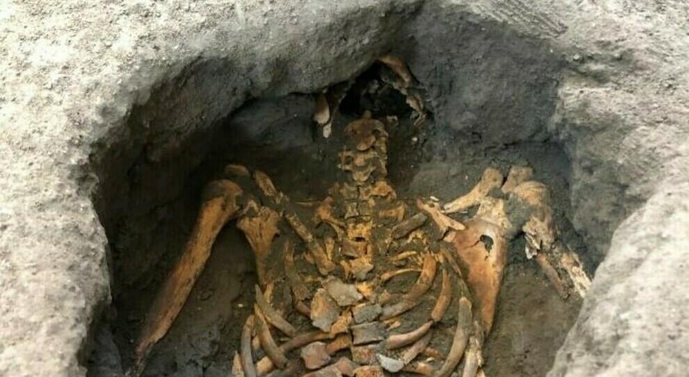 Pompei, ecco come sono stati ricostruiti i corpi dei due fuggiaschi: «Un identikit mai raggiunto prima»