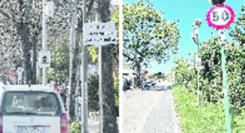 I due autovelox di via Di Sotto e Strada Colle Renazzo a Pescara
